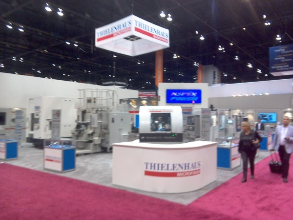 [Image]Participation in the exhibition at IMTS 2014