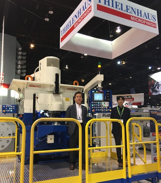 [Image]Participation in the exhibition at IMTS 2016