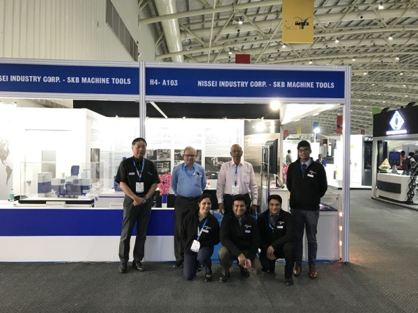 [Image]Participation in the exhibition at IMTEX 2019